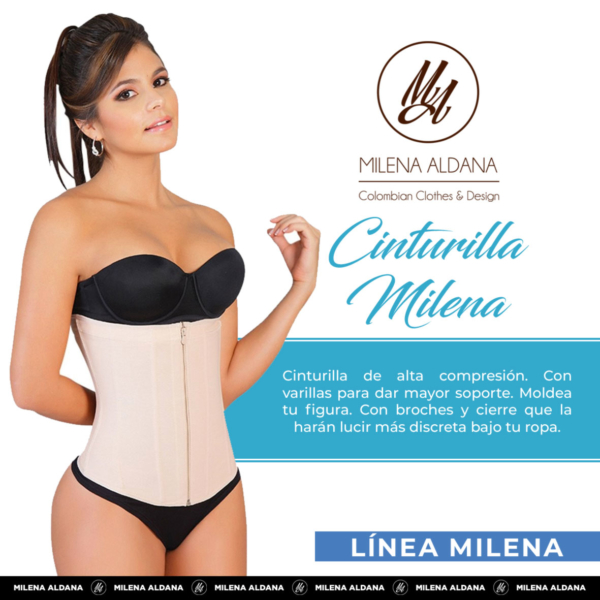 Faja - Cinturilla - Milena Aldana