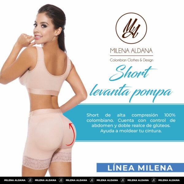 Faja - Short Levantapompa - Milena Aldana