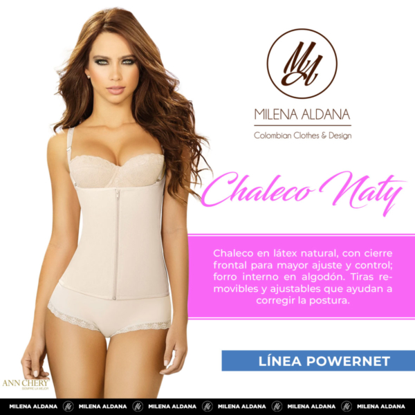 Faja - Chaleco Naty - Milena Aldana
