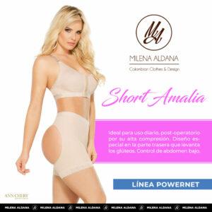 Faja - Short Amalia - Milena Aldana