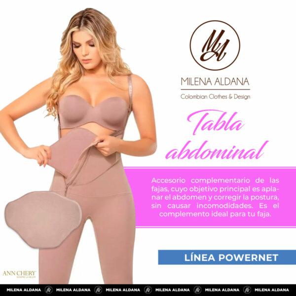 Faja - Tabla Abdominal - Milena Aldana