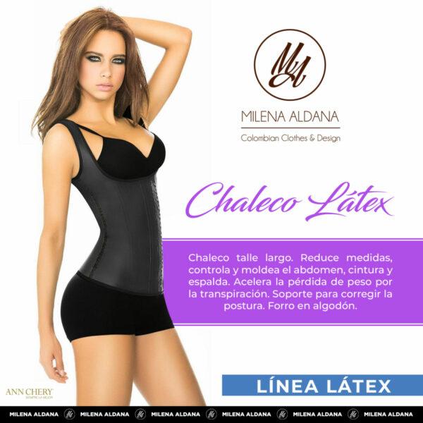 Faja - Chaleco Látex - Milena Aldana