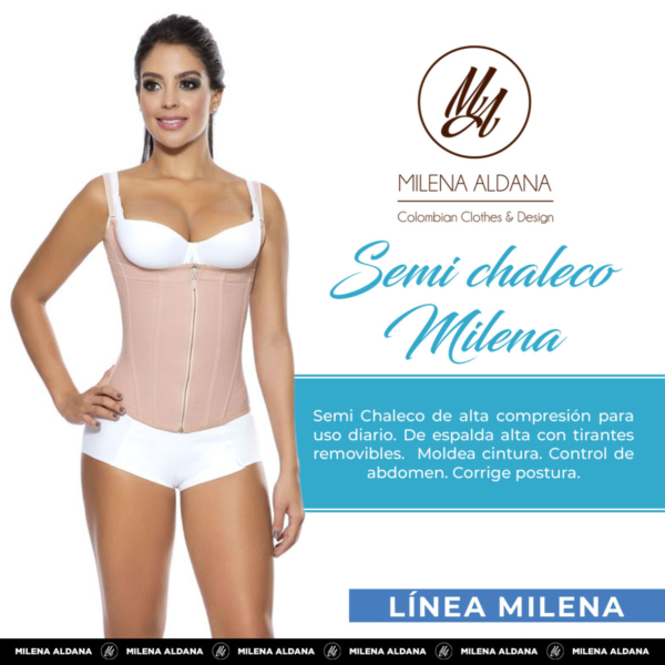 Faja - Semi Chaleco - Milena Aldana