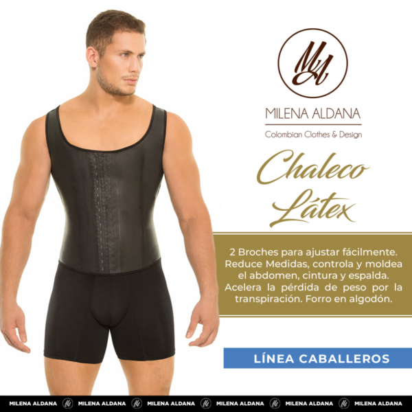 Línea Caballeros - Chaleco Látex - Milena Aldana