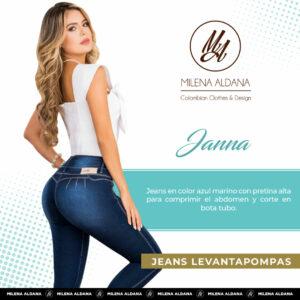 Jeans Pushup Hanna - Milena Aldana