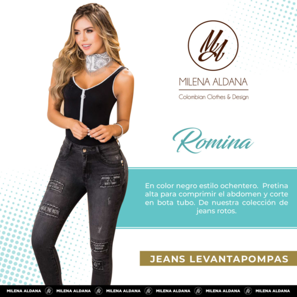 Jeans Pushup Romina - Milena Aldana