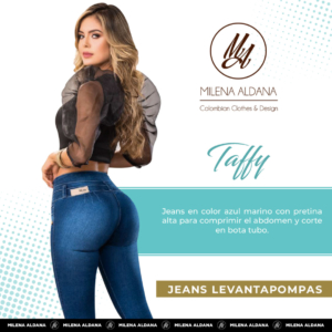 Jeans Pushup Taffy - Milena Aldana
