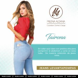 Jeans Pushup Tairona - Milena Aldana