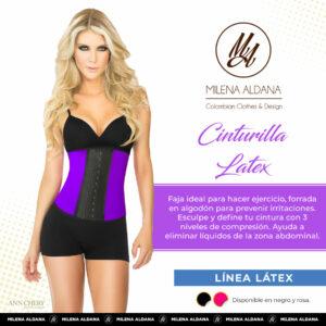Faja - Cinturilla Látex - Milena Aldana
