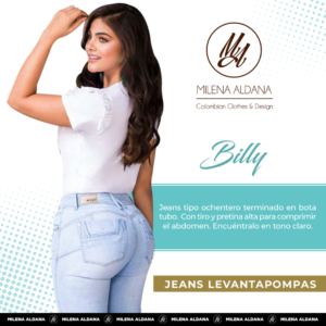 Jeans Pushup Billy - Milena Aldana