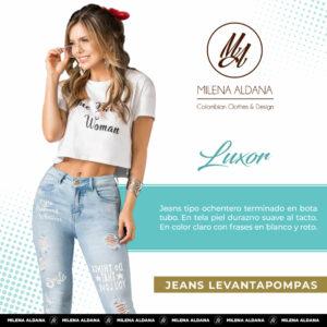 Jeans Pushup Lúxor - Milena Aldana