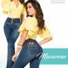 Jeans Pushup Macarena - Milena Aldana