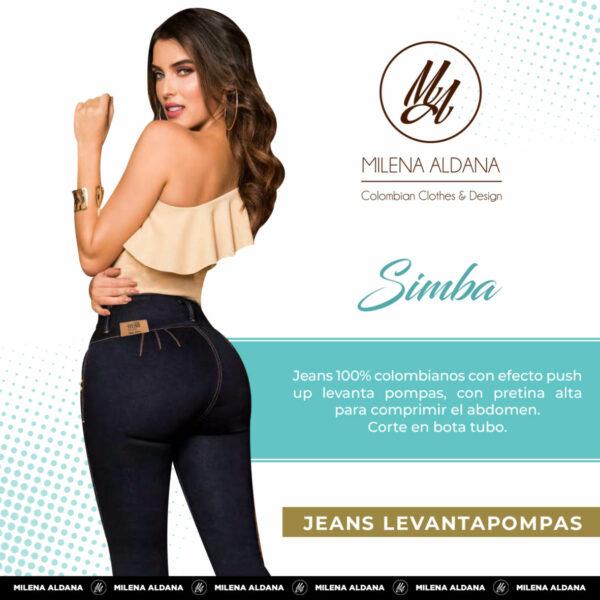 Jeans Pushup Simba - Milena Aldana