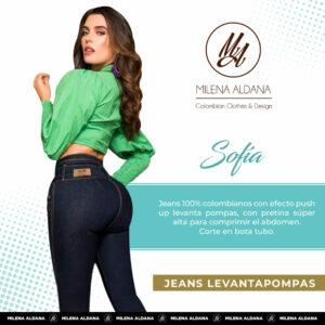 Jeans Pushup Sofia - Milena Aldana