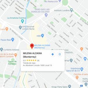 Milena Aldana Monterrey - Sucursal