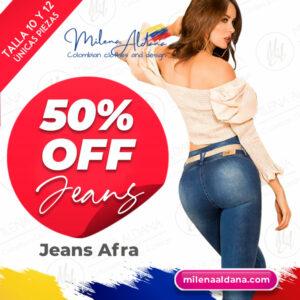 Jeans Afra - Últimas Piezas 50% off - Milena Aldana