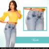 Jeans Colombianos Pushup Levantapompas - Karla - Milena Aldana