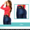 Jeans Colombianos Pushup Levantapompas - Gina - Milena Aldana