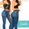 Jeans Colombianos Pushup Levantapompas - Dalila - Milena Aldana