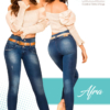 Jeans Colombianos Pushup Levantapompas - Afra - Milena Aldana
