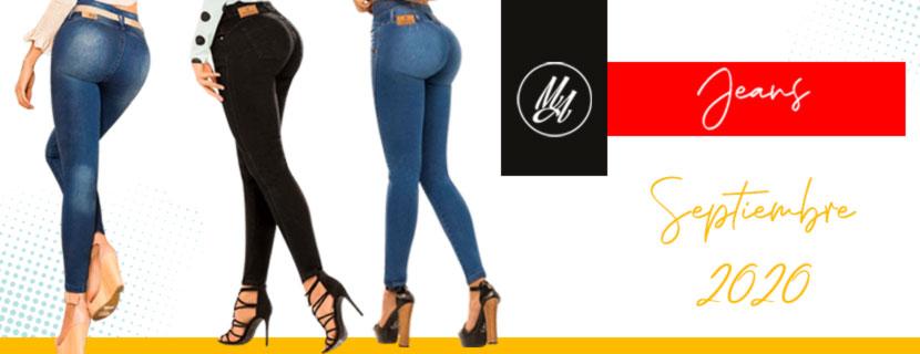 Nueva Colección Jeans Colombianos Levantapompa - Milena Aldana