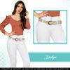 Jeans Colombianos Pushup Levantapompas - Dailyn - Milena Aldana