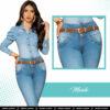 Jeans Colombianos Pushup Levantapompas - Maide - Milena Aldana
