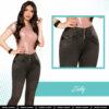 Jeans Colombianos Pushup Levantapompas - Zully - Milena Aldana
