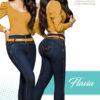 Jeans Colombianos Pushup Levantapompas - Flavia - Milena Aldana