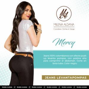 Jeans Colombianos Pushup Levantapompas - Mercy - Milena Aldana