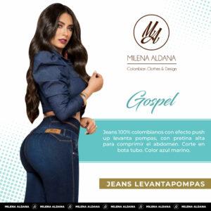 Jeans Colombianos Pushup Levantapompas - Gospel - Milena Aldana