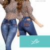 Jeans Colombianos Pushup Levantapompas - Liz - Milena Aldana
