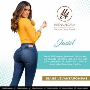 Jeans Colombianos Pushup Levantapompas - Jasiel - Milena Aldana