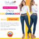 Jeans Colombianos Pushup Levantapompas - Eternal - Milena Aldana