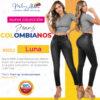 Jeans Colombianos Pushup Levantapompas - Luna - Milena Aldana
