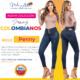 Jeans Colombianos Pushup Levantapompas - Penny - Milena Aldana