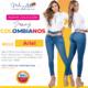 Jeans Colombianos Pushup Levantapompas - Ariel - Milena Aldana