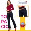 Jeans Colombianos Pushup Levantapompas - Topacio - Milena Aldana