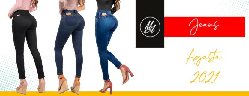 Colección Agosto 2021 Jeans Colombianos Levantapompa - Milena Aldana